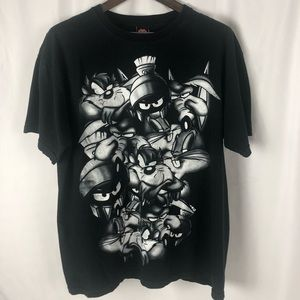 Warner Bros Looney Tunes Graphic Character Tee XL